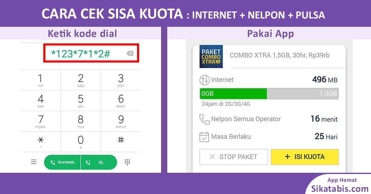 Image Result For Cek Paket Internet Simpati