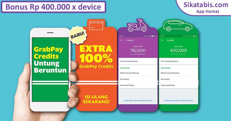 Promo GrabPay bonus saldo tahun 2017 di Indonesia 768px x 403px