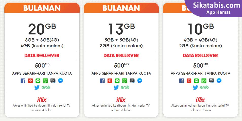 Paket Internet Im3 Ooredoo Murah Cara Daftar 2018 Sikatabis Com