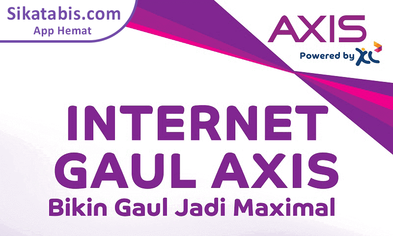 Paket internet Unlimited Axis Gaul
