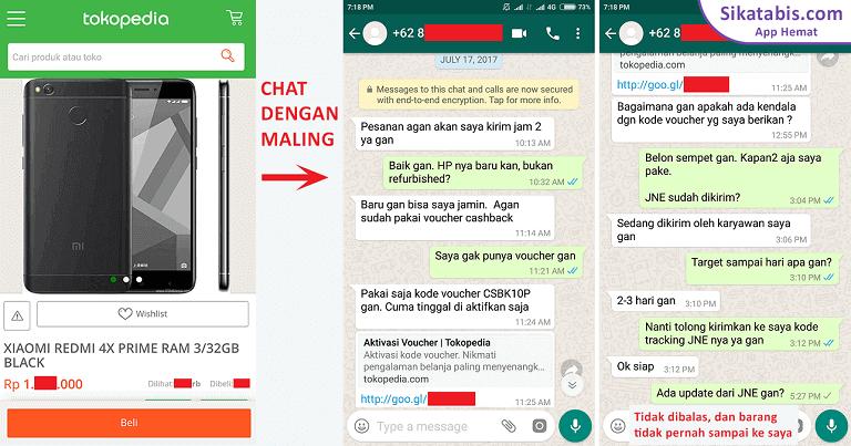 Cyber Crime Maling Saldo Tokopedia Bukalapak Sikatabis Com