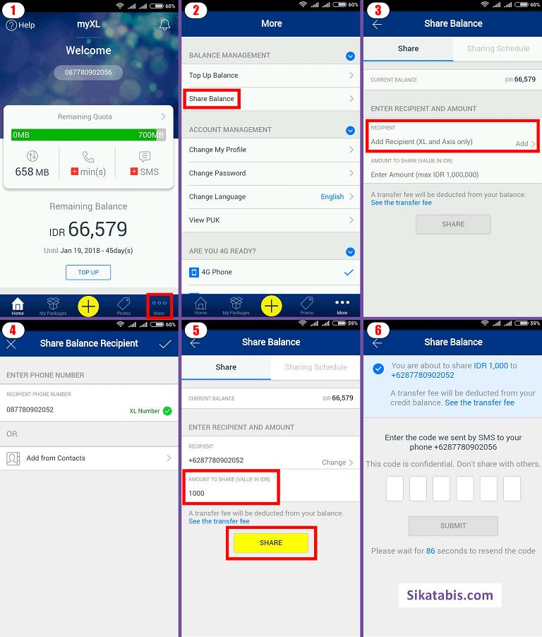 5 Cara Transfer Pulsa Xl 2019 Sikatabis Com