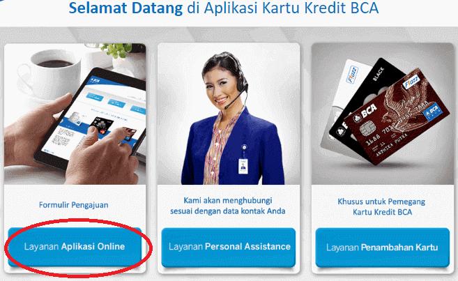 Cara membuat kartu kredit BCA via aplikasi online