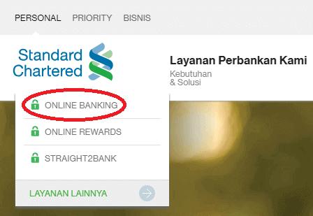 Cara membuat rekening internet banking Standard Chartered via online channel