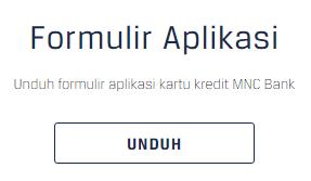 Cara mendapatkan formulir aplikasi kartu kredit MNC online