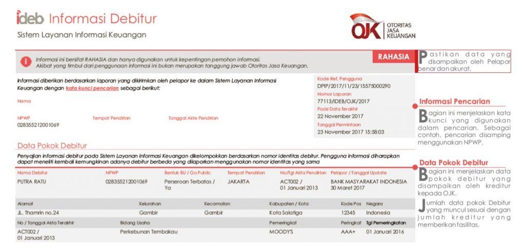 Cara Cek Informasi Debitur (SLIK / BI Checking) Sebelum ...