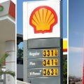 Gambar plang SPBU Pertamina, Shell, dan Total