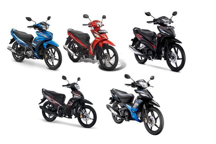Gambar sepeda motor bebek