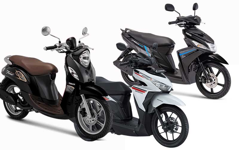 Gambar sepeda motor matik