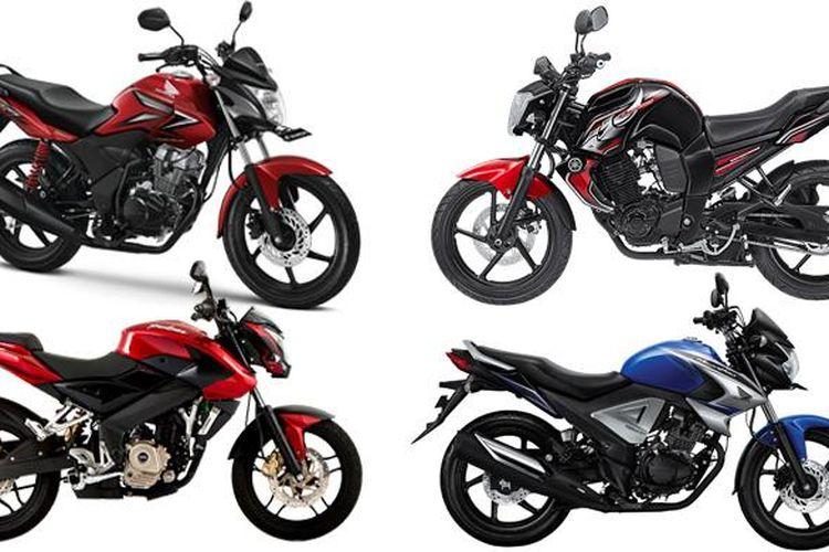 Gambar sepeda motor standar / naked