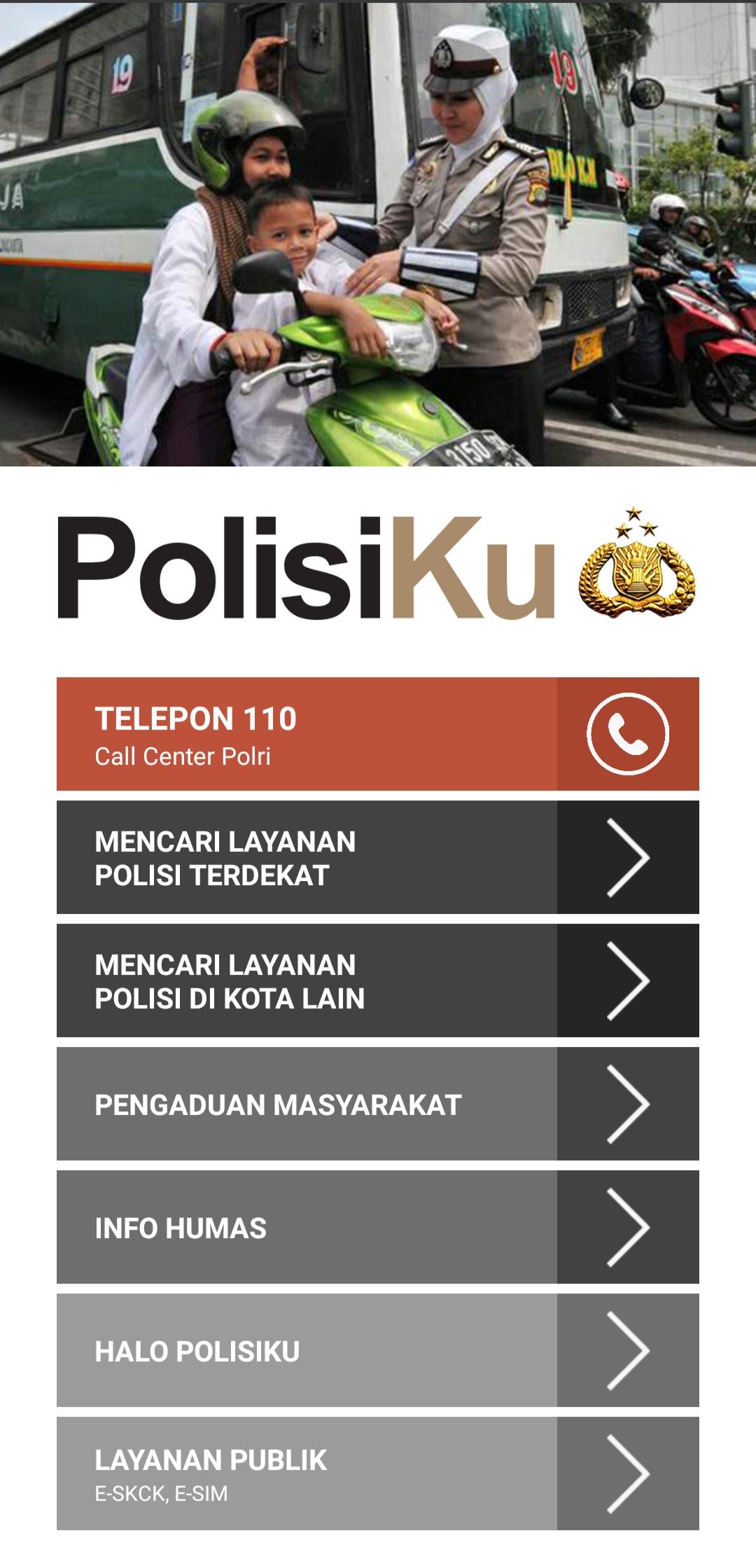 Aplikasi Polisiku 2