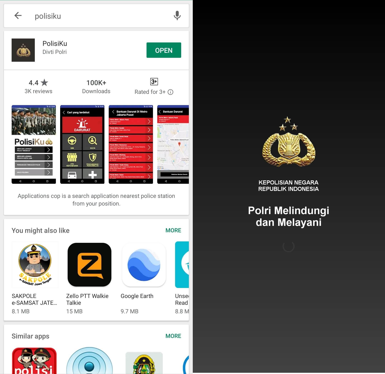 Aplikasi Polisiku 1