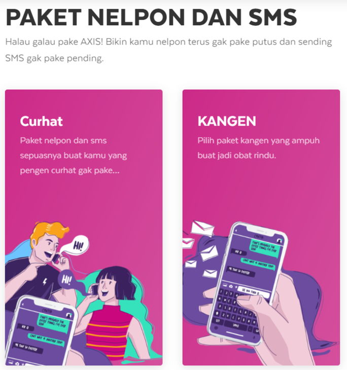 Paket SMS Axis