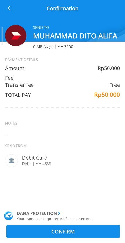 Aplikasi DANA Transfer Uang Gratis Tanpa Biaya Admin