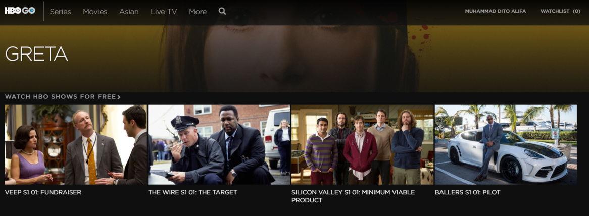 Langganan HBO GO untuk nonton film di rumah
