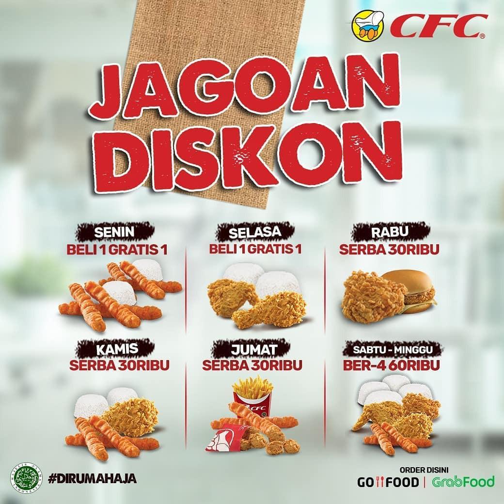 Promo Makanan Cepat Saji CFC