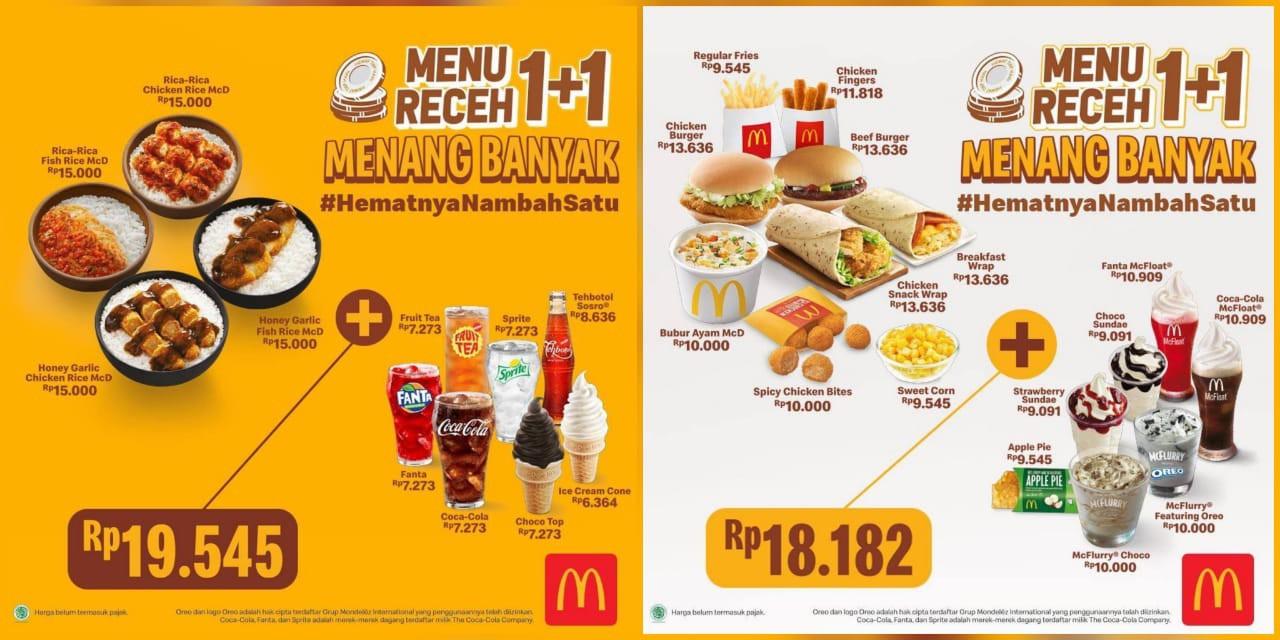 Promo Makanan Cepat Saji McD