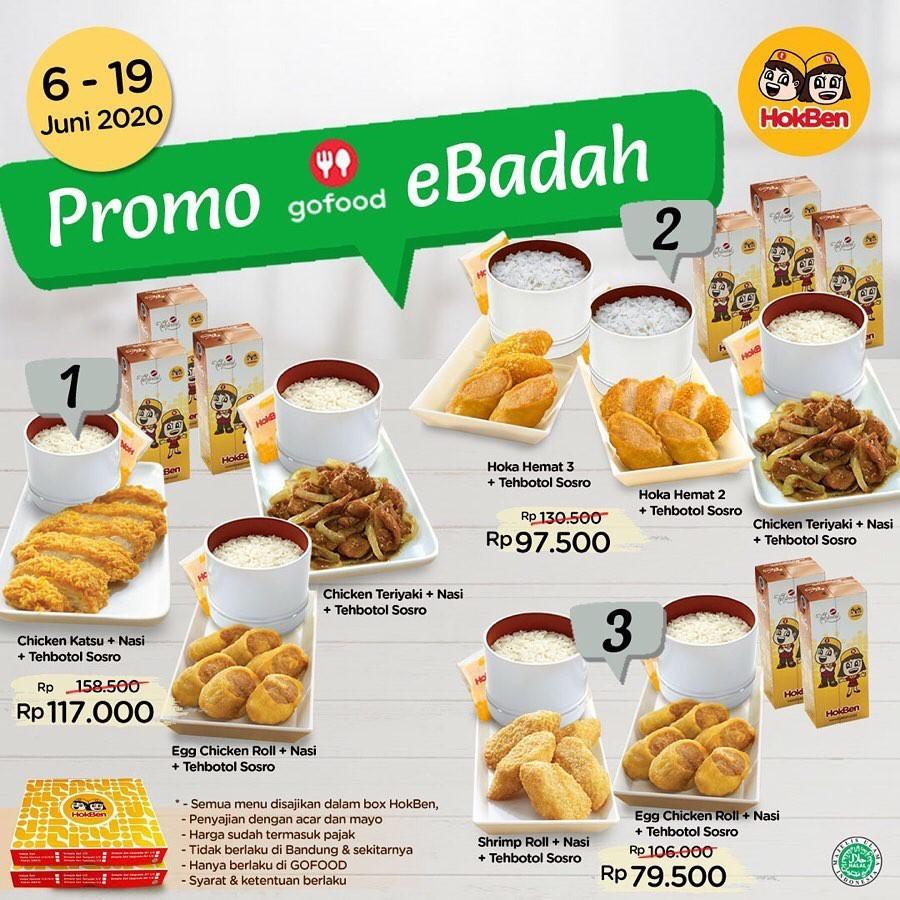Promo makanan Hokben