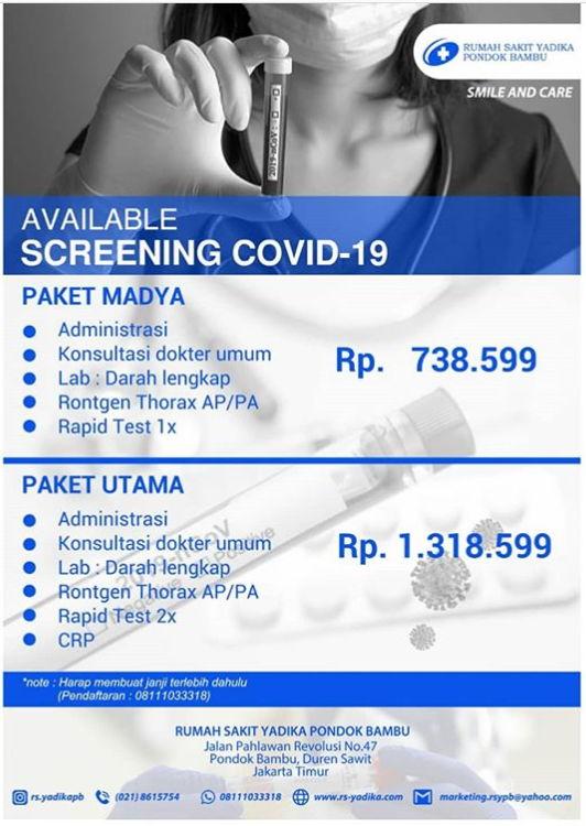 Daftar Lengkap RS di Jakarta untuk Test COVID • Sikatabis.com