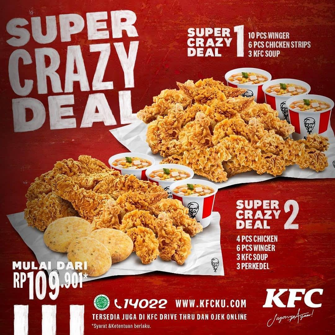 Promo Makanan Cepat Saji KFC Juni 2020