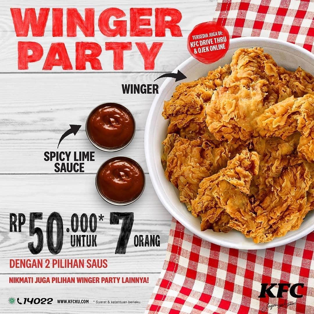 Promo Makanan Cepat Saji KFC