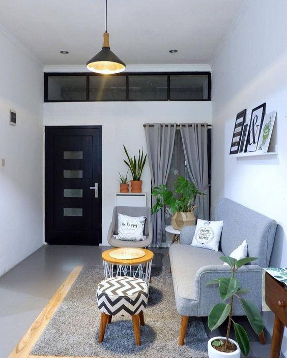 Dekorasi Ruang Tamu Rumah Subsidi