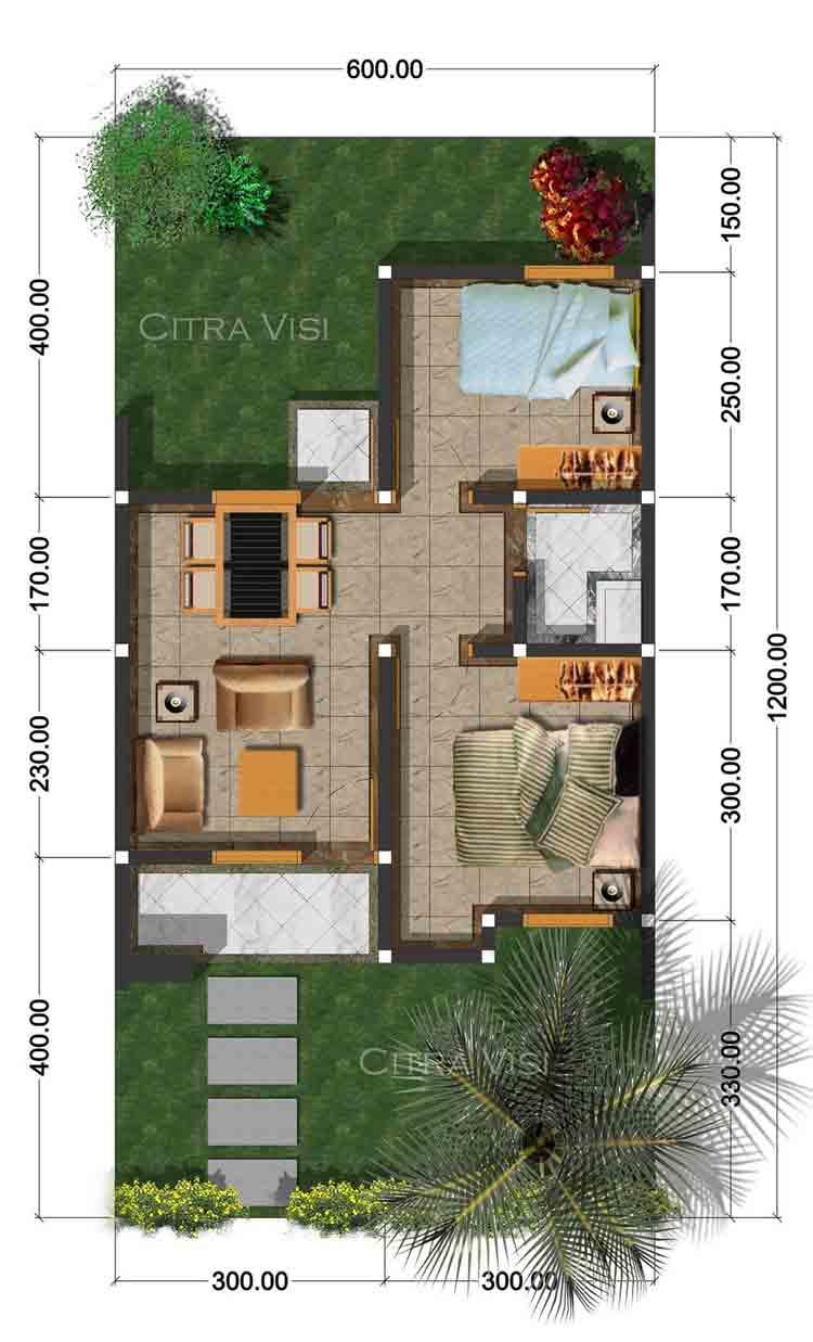 Desain Rumah Tipe 36 Tips Contoh Desain Sikatabis Com