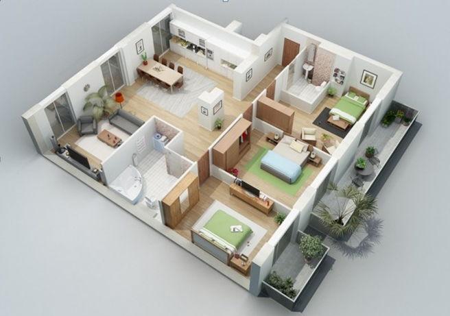 Rumah tipe 54