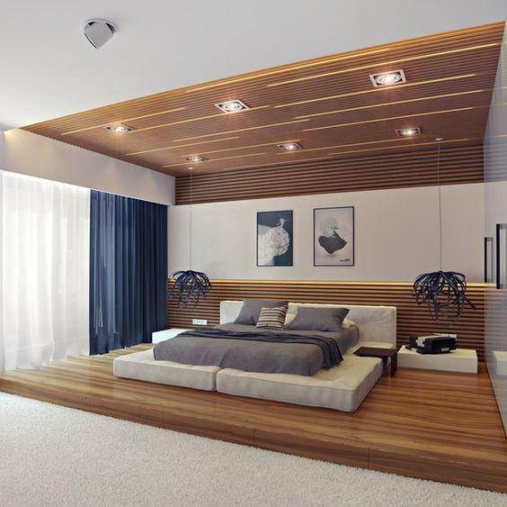 kamar minimalis kayu