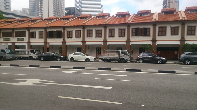 Ilustrasi Bangunan Ruko