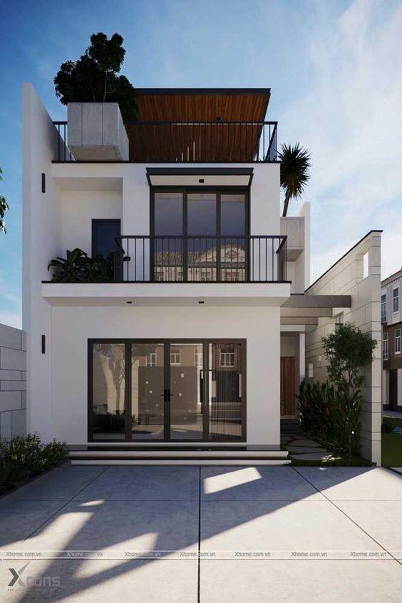 Rumah dengan rooftop