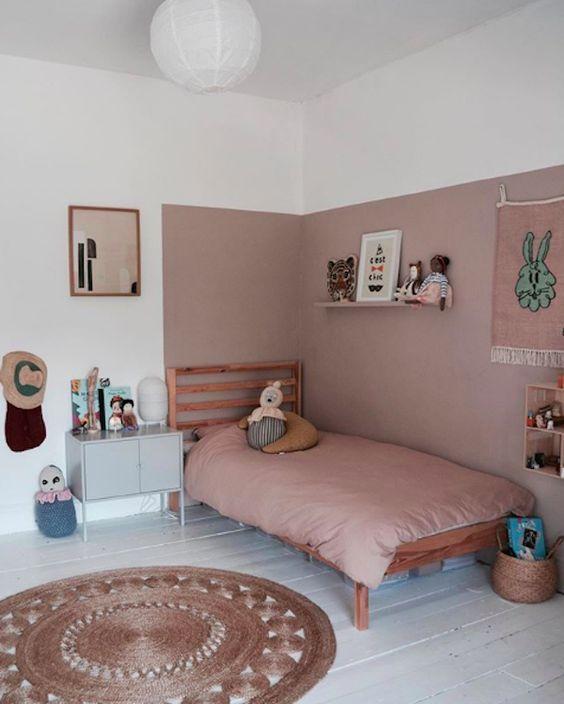 cat dinding kamar anak minimalis