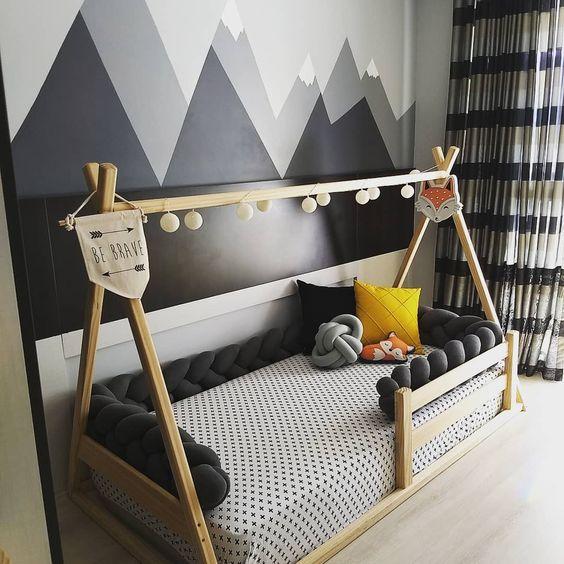 kamar anak tema scandinavian