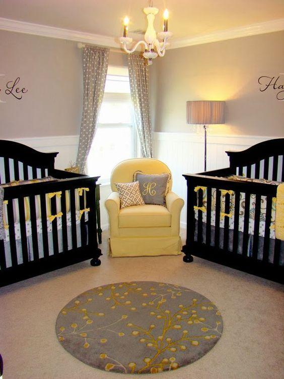 kamar minimalis bayi kembar
