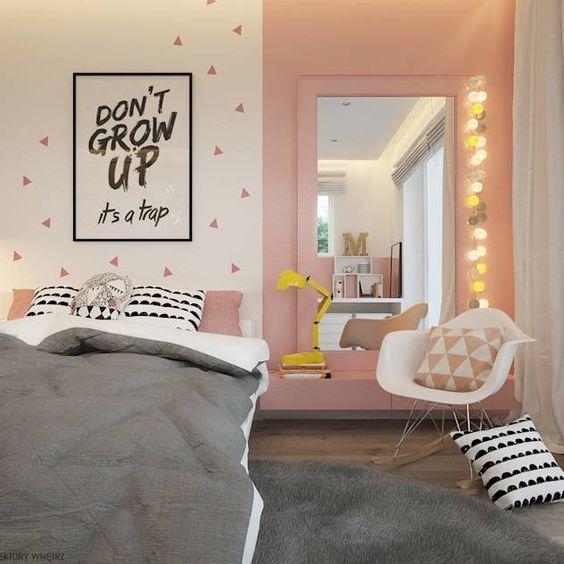 Kamar tidur remaja perempuan