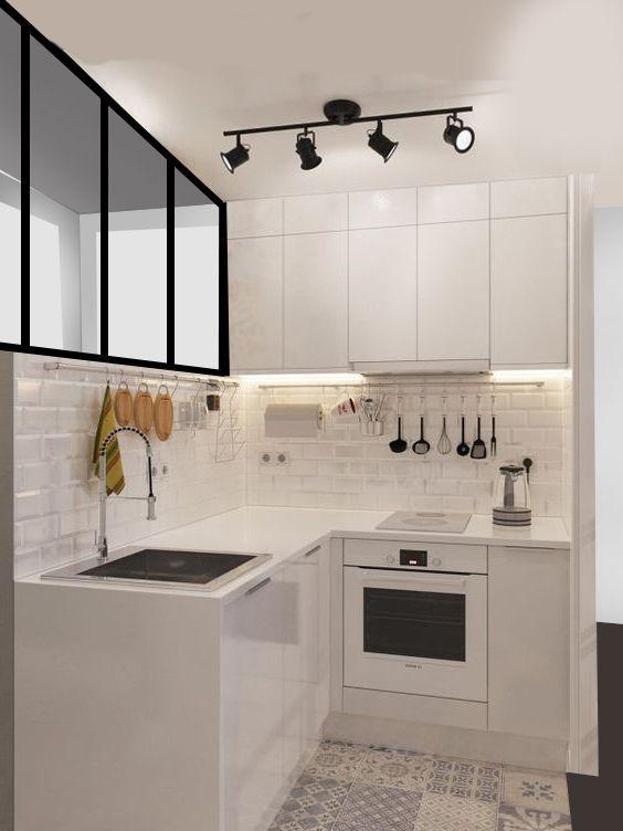kitchen set simple
