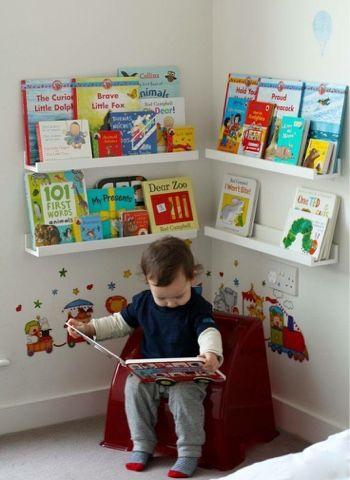 Pojok Membaca Anak di Kamar