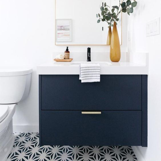 Rak kamar mandi minimalis