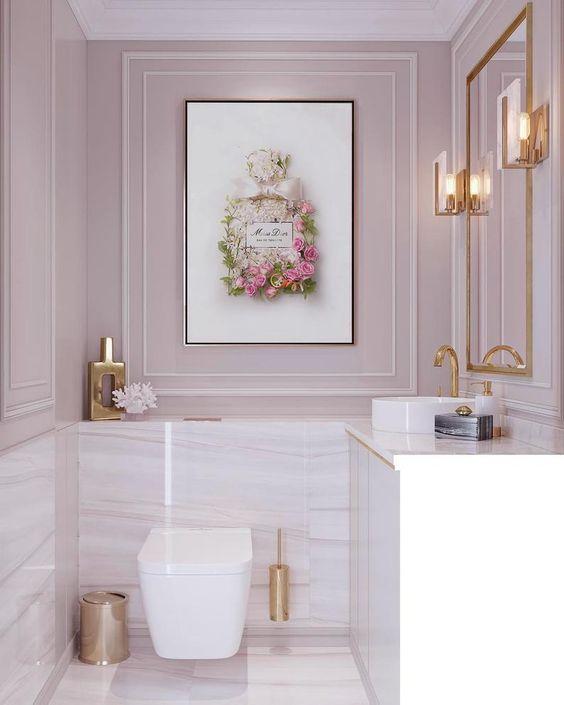 kamar mandi minimalis mewah