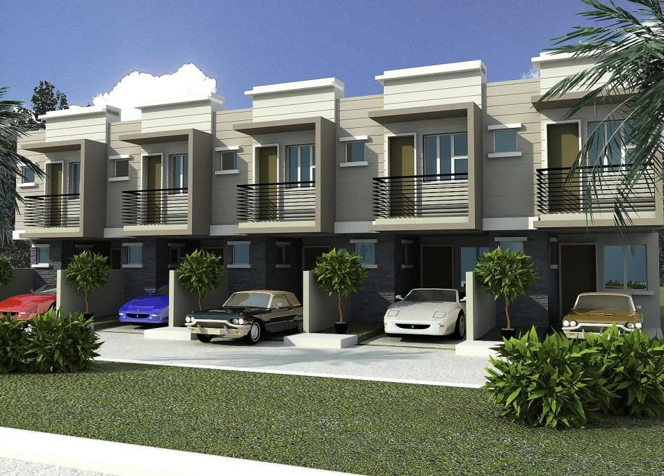 town house di Indonesia