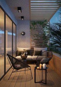 balkon minimalis: inspirasi dan tips dekor • sikatabis