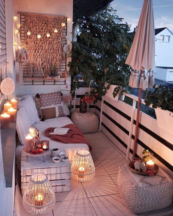 balkon rustic