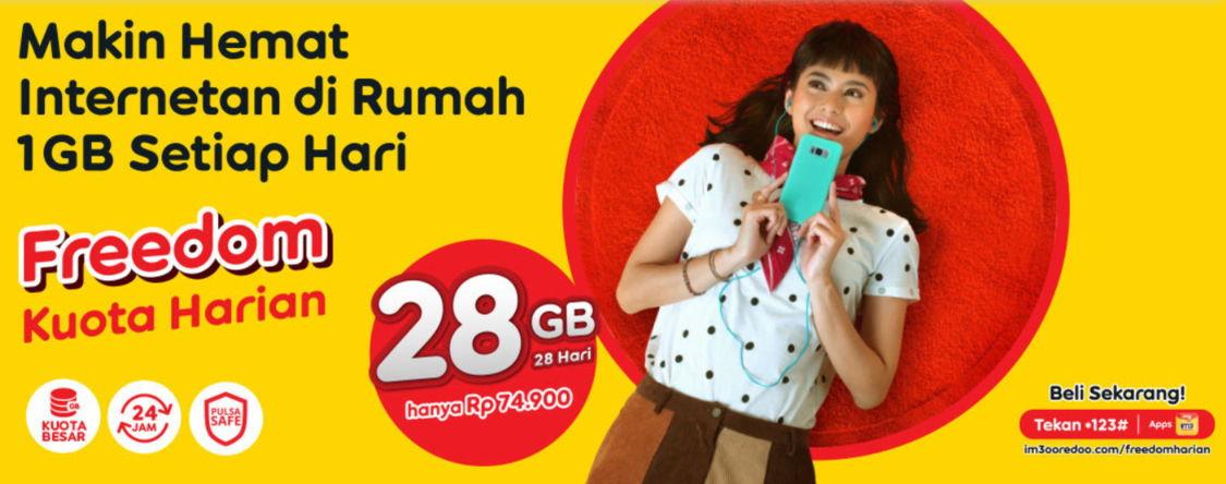 Paket Freedom Harian Indosat