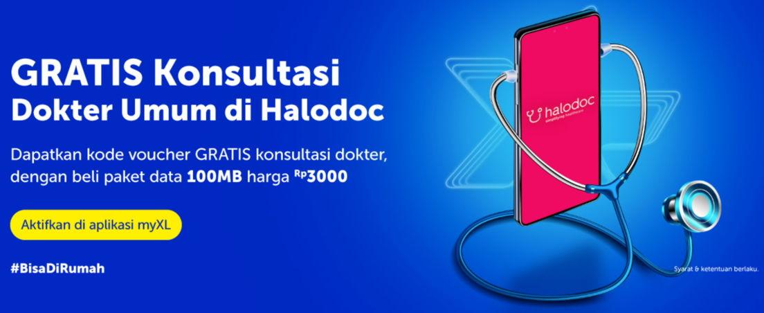 paket xl gratis halodoc