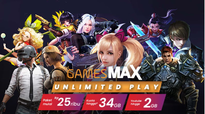 kuota gamesmax unlimited play as